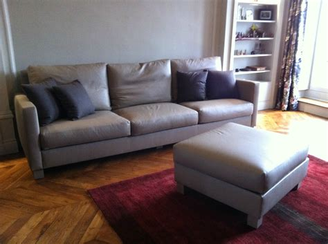 canape taupe cuir canape cuir taupe