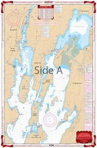 Northern Lake Champlain Navigation Chart Maps 12