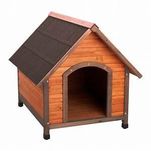 Premium large a frame doghouse 01707 the home depot for Dog house kits home depot