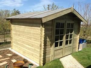 Abri De Jardin Bois Solde : abri de jardin de 9 m en 40 mm trait autoclave ~ Melissatoandfro.com Idées de Décoration