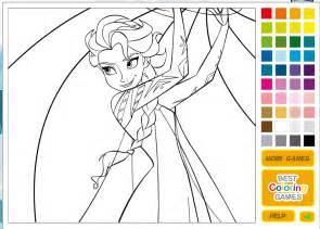 Disney Princess Coloring Pages Games