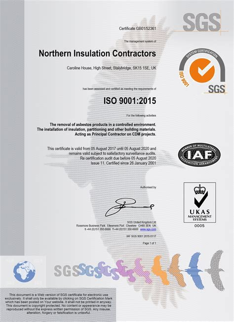 asbestos removal thermal insulation accreditation nic