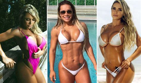 Brazilian fitness model looks stunning after being branded ...