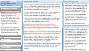 How to compare two word documents and find differences for Compare documents differences
