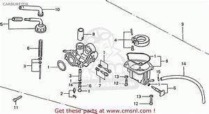 Honda Z50j1 Monkey Germany Carburetor