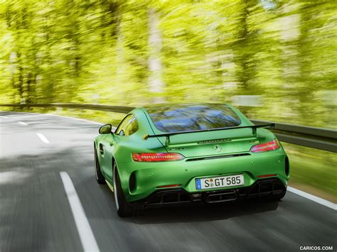 2017 Mercedes Amg Gt R At The Nurburgring Color Green
