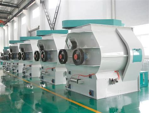 china paddle type shaft horizontal poultry feed mixer machine manufacturers suppliers