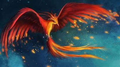 Phoenix Fantasy Wallpapers Wallpapersafari Theme Hivewallpapercom