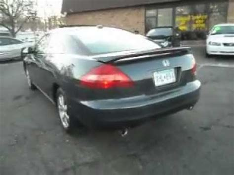 honda accord  dr coupe   leather  miles