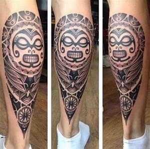 Tatouage Mollet Tribal : calf tattoo 50 model yang tidak berjalan di jalanan ~ Farleysfitness.com Idées de Décoration