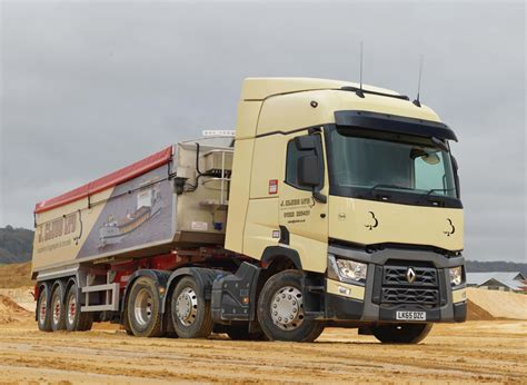 renault truck three new renault trucks for j clubb agg net