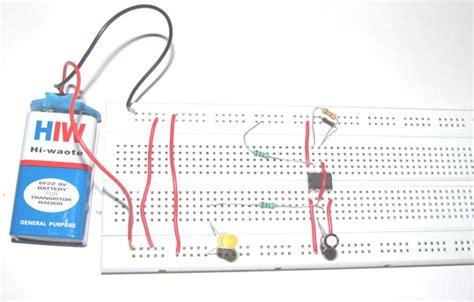 Making Flashing Blinking Led Circuit Diagram Using