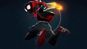 Spider, Verse, Miles, Morales, Cover, 4k, Hd, Superheroes