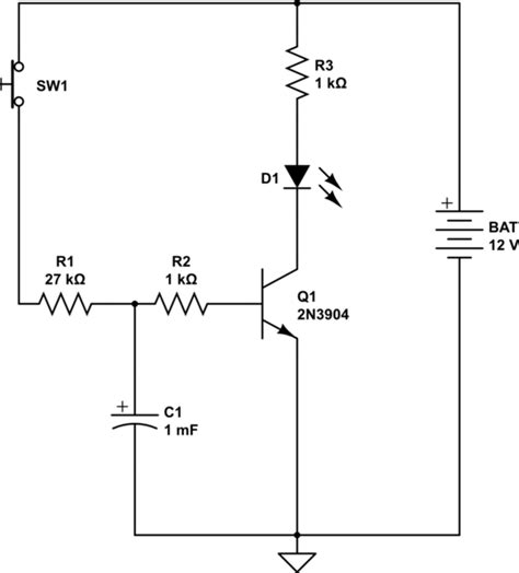 Capacitor Transistor Delay Electrical Engineering