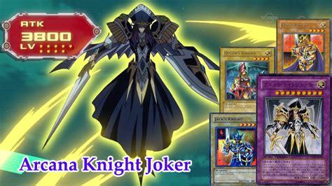 arcana deck yugioh deck arcana joker request ygopro