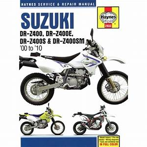 Suzuki Drz400  2000 To 2010  Haynes Manual - 2933
