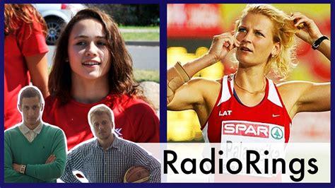 Radio Rings E24: šķēpmetēja Palameika un svarcēlāja Koha - YouTube