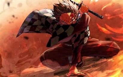 Slayer Demon Wallpapers Anime Kimetsu Yaiba Tanjirou