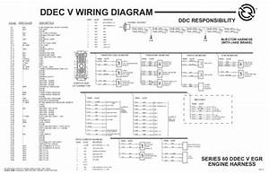Pdf  Ddec V Wiring Diagram Series 60 Ddec V Egr Engine