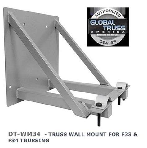 dura truss by global dt wm34 truss wall mount for f33 f34