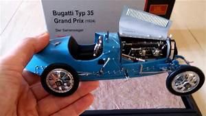 Bugatti Type 35 Prix : cmc bugatti type 35 grand prix 1924 die cast model youtube ~ Medecine-chirurgie-esthetiques.com Avis de Voitures