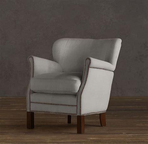 restoration hardware professors chair living room