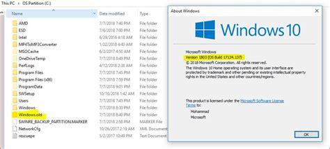 Can I Delete The 'windows.old' Folder Safely After Windows