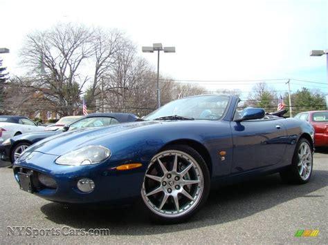 jaguar xk xkr convertible  pacific blue metallic