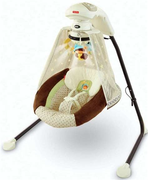fisher price swing fisher price starlight papasan cradle swing nite nite