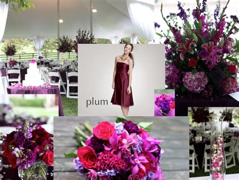 plum wedding colors fall wedding colors purple and plum wedding weddings and flower ideas