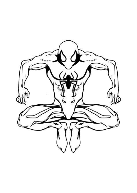disegno  spiderman da colorare  disegni da
