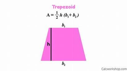 Trapezoid Formula Area Quadrilateral Properties Quadrilaterals Explained