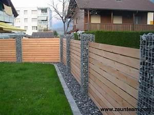 Zaun Aus Glas : zaun und tor referenzen von zaunteam gabionen 3800 matten zaunteam ~ Yasmunasinghe.com Haus und Dekorationen