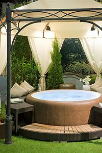 26 spectacular hot tub gazebo ideas With idee pour jardin exterieur 18 decoration salon maison bourgeoise