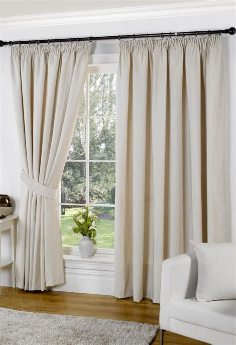 How To Measure For Cafe Curtains by Banbury Cream Lined Curtains Woodyatt Curtains Stock