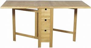 Furniture Link Hampshire Oak Table - Gate Leg Furniture Link