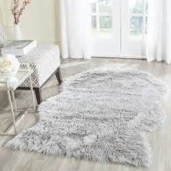 Imitation Rugs by Rug Fss118a Faux Sheep Skin Area Rugs By Safavieh