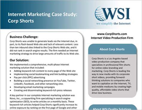 study marketing novo writing portfolio studies