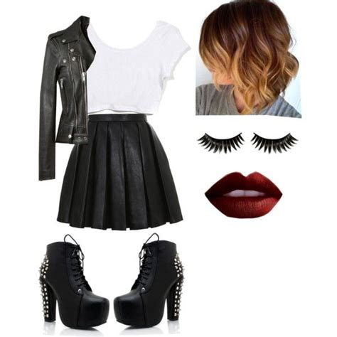 Badass Outfit!!!!! ? created by niallsprincessdirectioner on Polyvore | Girly | Pinterest ...