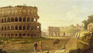The Colosseum Painting by John Inigo Richards