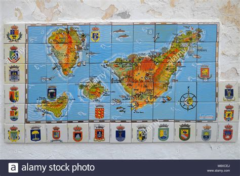 map canary islands stockfotos map canary islands bilder