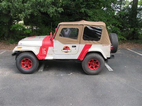 jeep wrangler rio grande jurassic park  sale classiccarscom cc