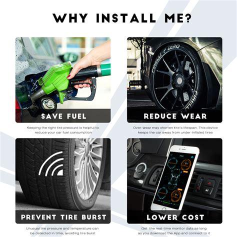 Buy Zeepin Vc601 Ble Tpms Car Tire Pressure Monitor System