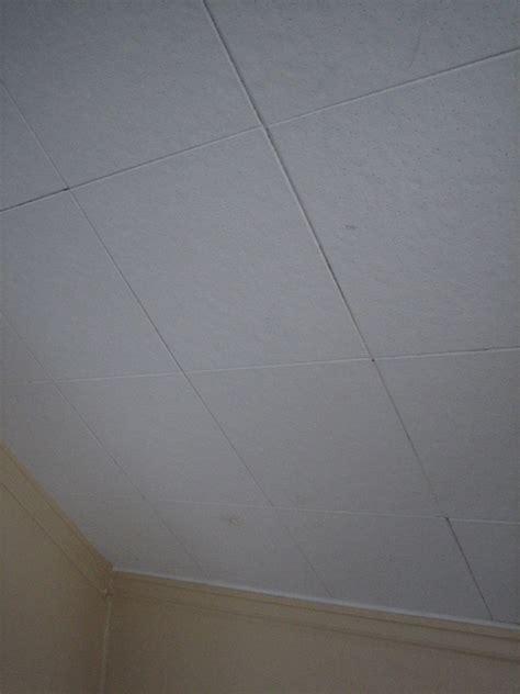 asbestos ceiling tiles