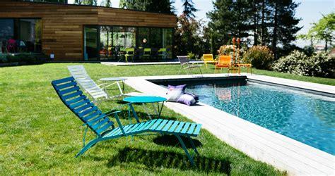 chaise longue fermob bistro chaise longue garden deck chair