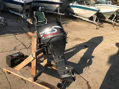 Used Outboard Motors Jacksonville by 9 9 Evinrude Outboard For Sale