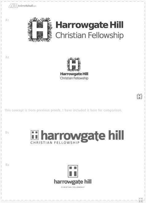 Church Logo Design for Harrowgate Hill