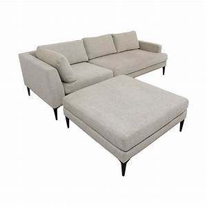 42 off west elm west elm andes terminal chaise for Sectional sofa bed west elm
