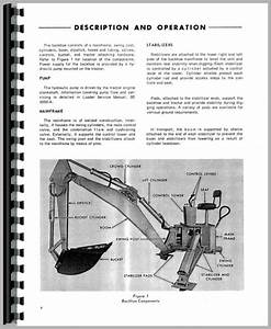 Ford 4500 Backhoe Attachment Service Manual