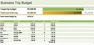 ms excel business trip budget template formal word templates With business trip expenses template
